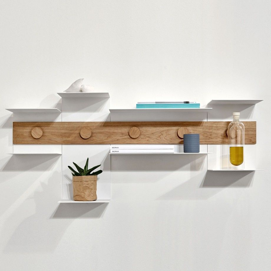 creatively constructed interior pieces junction shelf by serax
