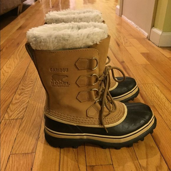 Snowboots Sorel Worn Only Once Perfect For Snow And Rain -4407