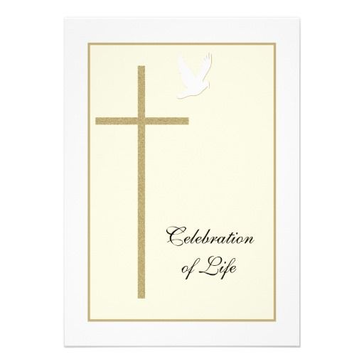 Celebration Of Life Invitation Celebrations   Funeral Ceremony Invitation  Invitation For Funeral
