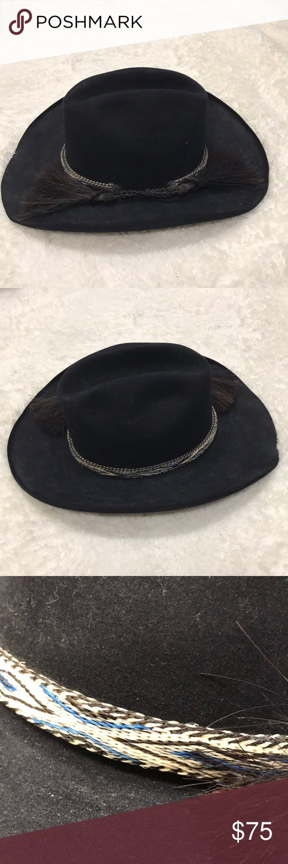 9c542f32fa71b Double H Custom Hat Company hat Double H Custom Hat Company hat in  excellent condition Double H Accessories Hats