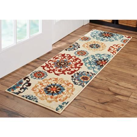Better Homes And Gardens Suzani Runner Rug Multi Colored