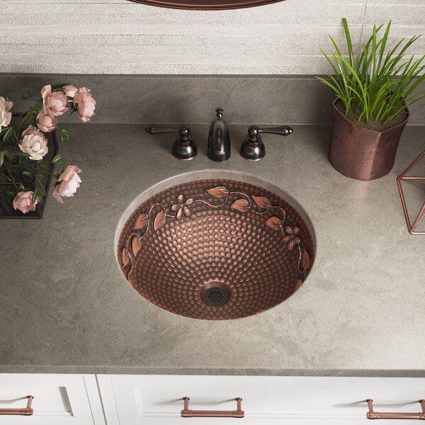 Photo of Copper Circular Dual Mount Sink