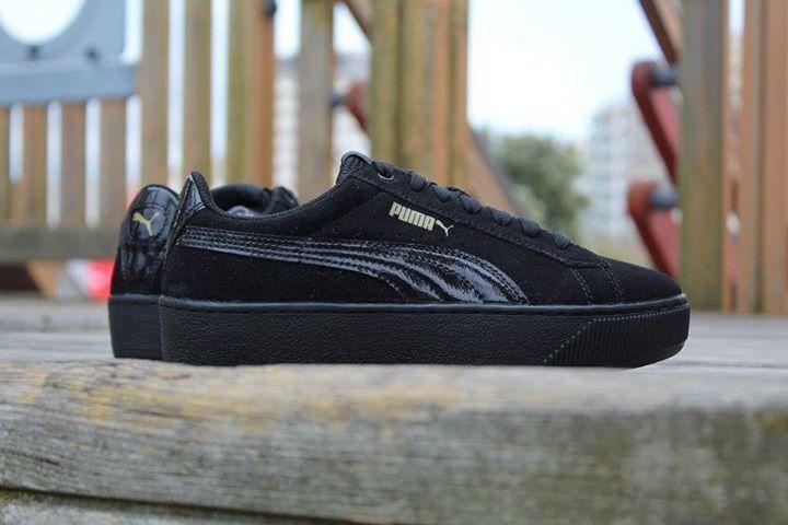 puma sneaker vikky platform metal
