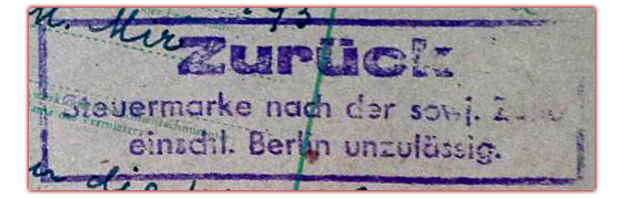 Das Berliner Notopfer Wie man versuchte, an der