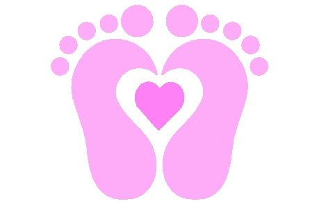 baby feet free clipart 1 jpg 469 296 present ideas for doctor rh pinterest com Baby Foot Clip Art heart football clipart free