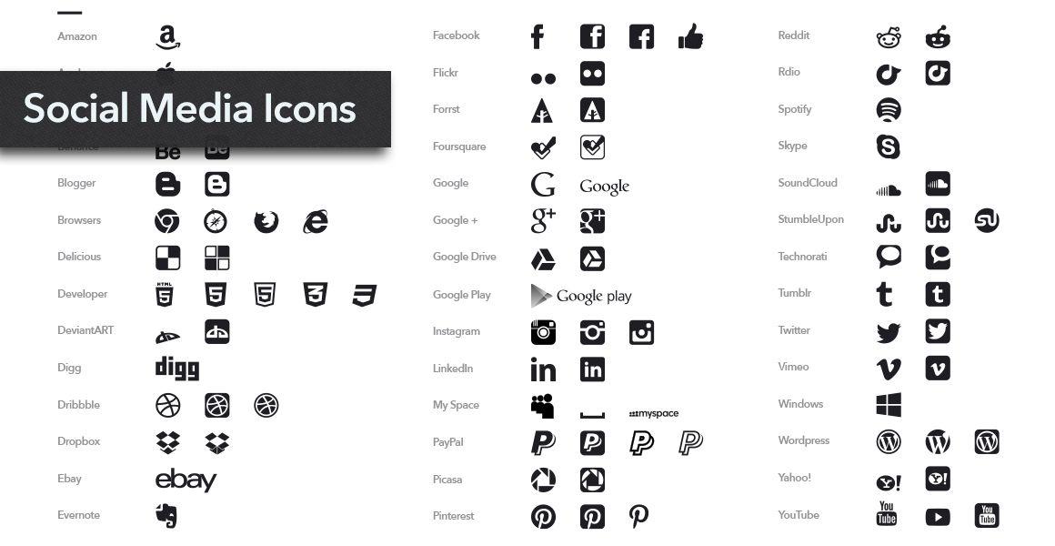 Social Media Symbole Auf Einer Visitenkarte Plus Social
