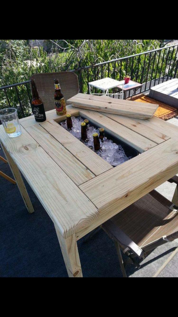 Épinglé par Cloé Houle sur Brico en 2019 | Tables de patio, Jardins ...