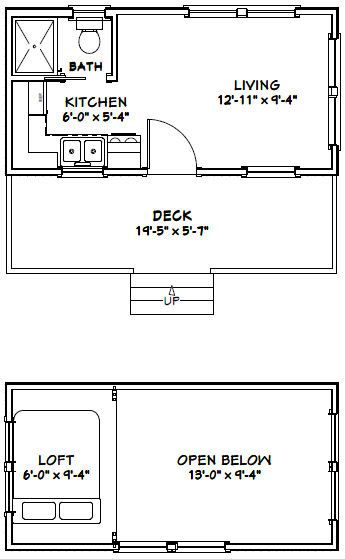 20x10 Tiny House 1 Bedroom 1 Bath 266 Sq Ft Pdf Floor Etsy Tiny House Floor Plans Cabin Floor Plans Apartment Floor Plans