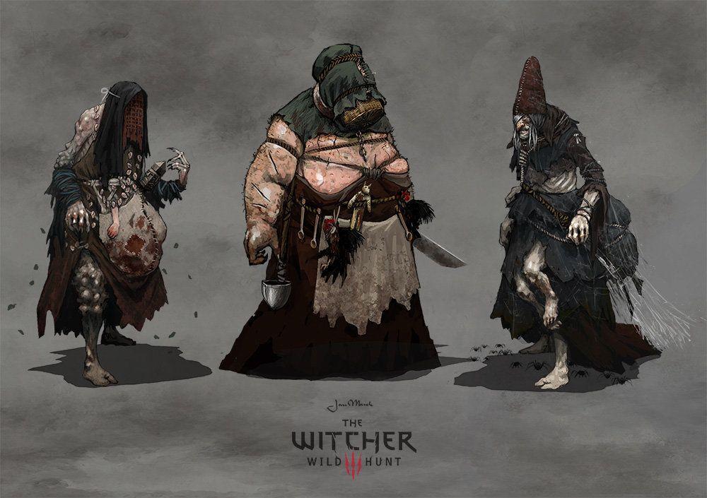 witcher 3 muhmen