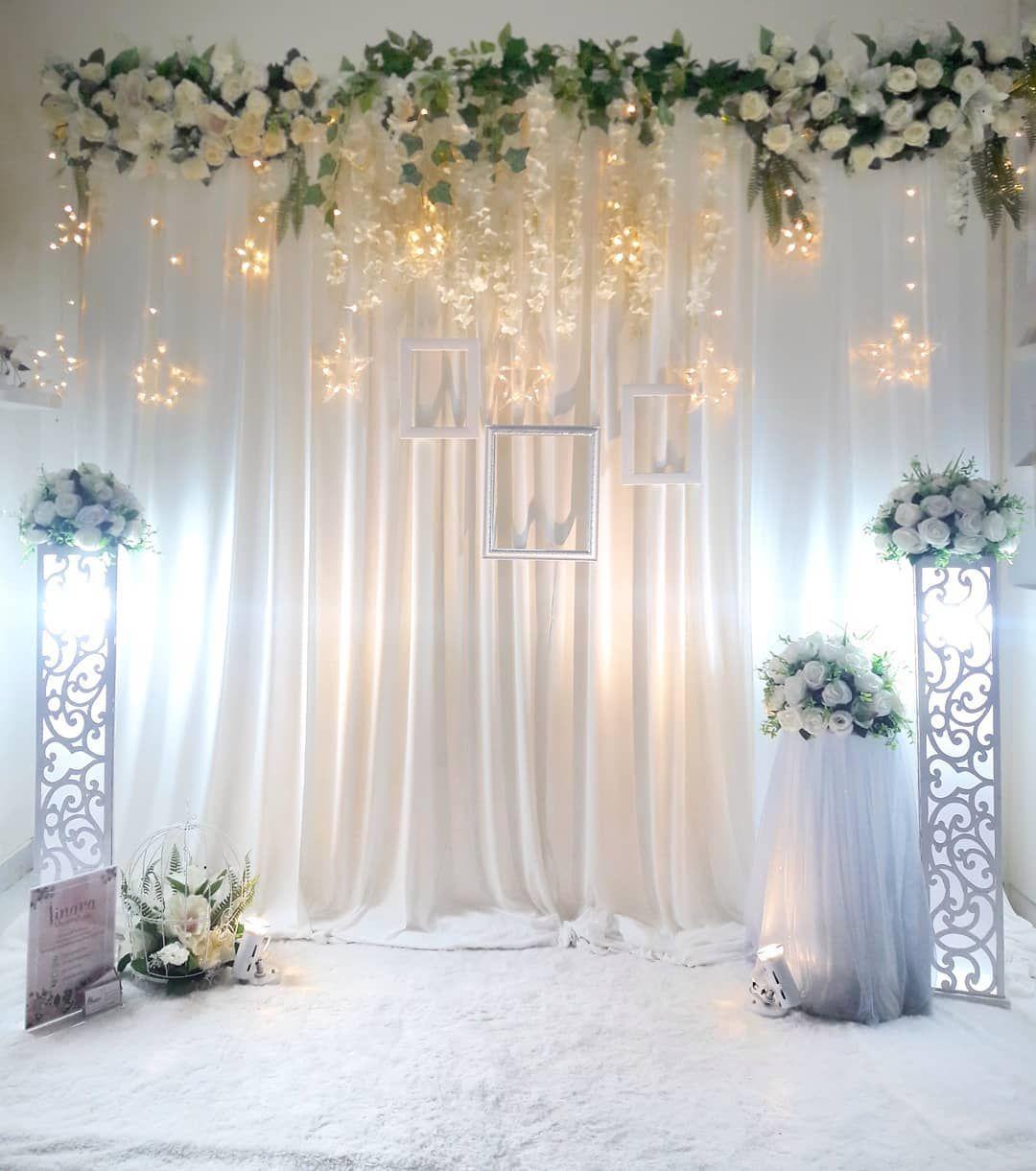 Wedding decorations backdrop  Pelamin backdrop  Engagement inspo  Pinterest  Backdrops Wedding