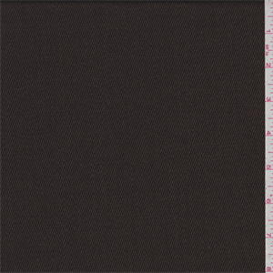 *4 YD PC--Chestnut Brown Twill Suiting - 34732-C1 - Chesnut brown with dark brown undertones. This medium weight wool fabric has a soft feel. Imported from Italy. Compare to $25.00/yd total $32.25