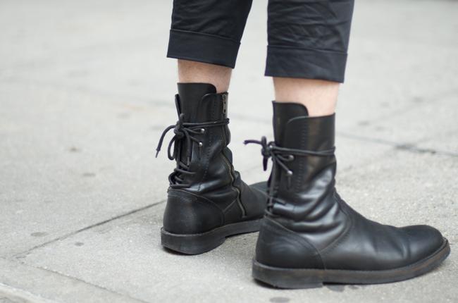 ann demeulemeester. | ブート, 男性の靴