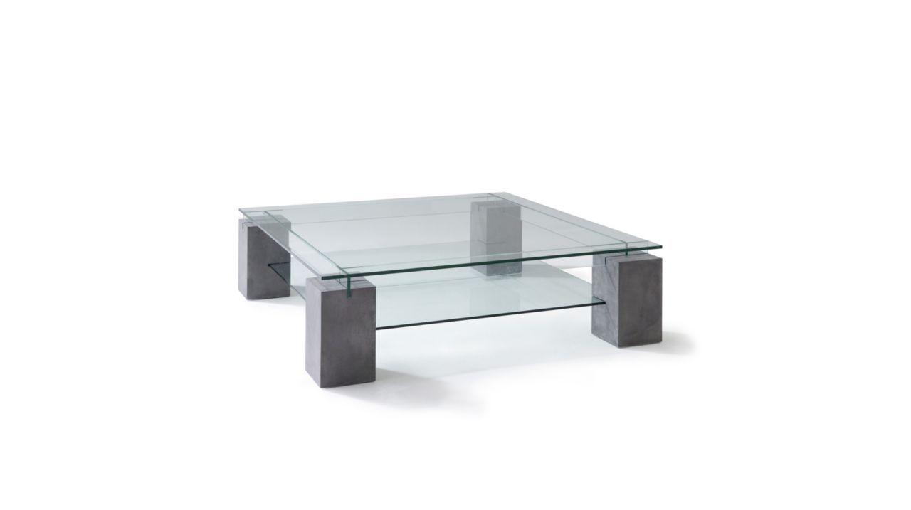 Tenere Cocktail Table Concrete Patina Roche Bobois Table Basse Double Plateau Table Basse Table Basse Carree