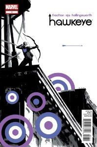 Hawkeye #1 by Matt Fraction. $6.94. Publication: 2012. Publisher: Marvel Comics (2012). The breakout star of this summer's blockbuster AVENGERS film and self-made hero Hawkeye fights for justice! He's out to prove himself as one of Earth's Mightiest Heroes!                                                         Show more                               Show less
