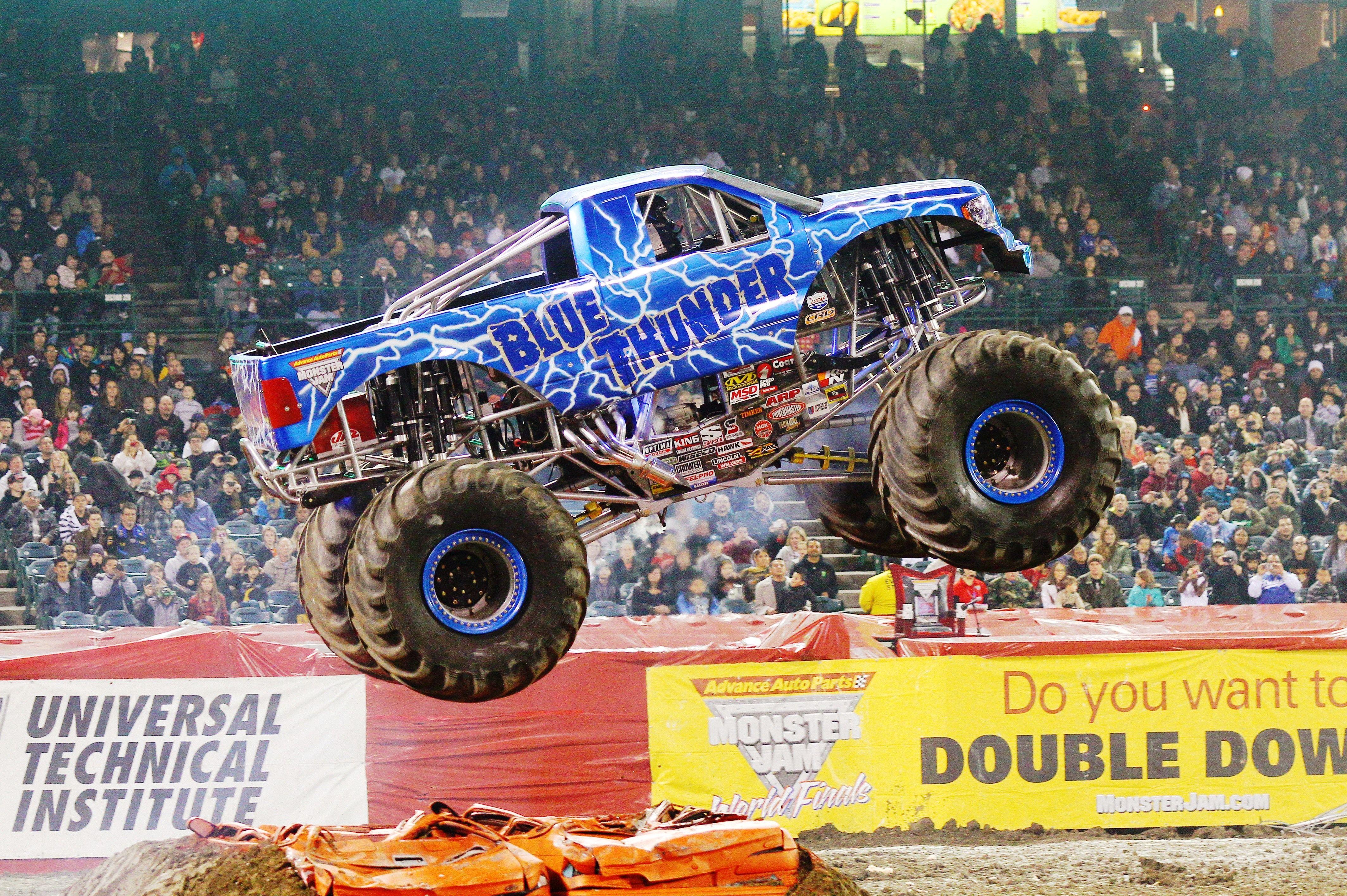 Blue Thunder Monster Trucks Monster Jam Blue Thunder