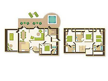 Example Floor Plan Of Exclusive Lodge Wooden Cabins Cabin Plans Lodges Centre