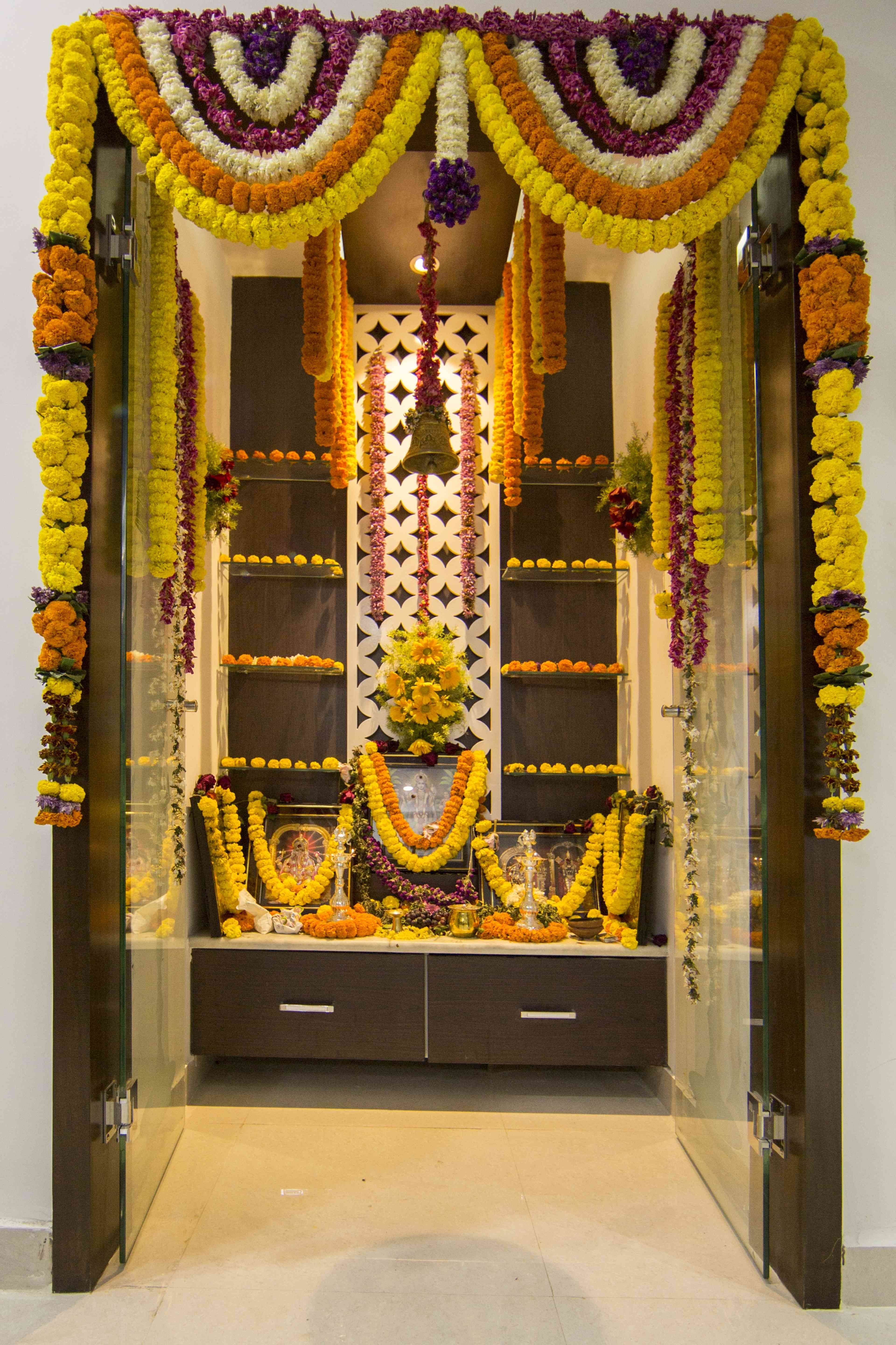 Exceptionnel Pooja Mandir At Home