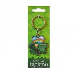Carrolls Irish Gifts Lucky Folk Leprechaun With Rainbow /& Crock Of Gold With Good Luck From Ireland