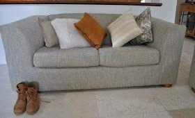 Handmade by Carolyn: Sage green lounge suite
