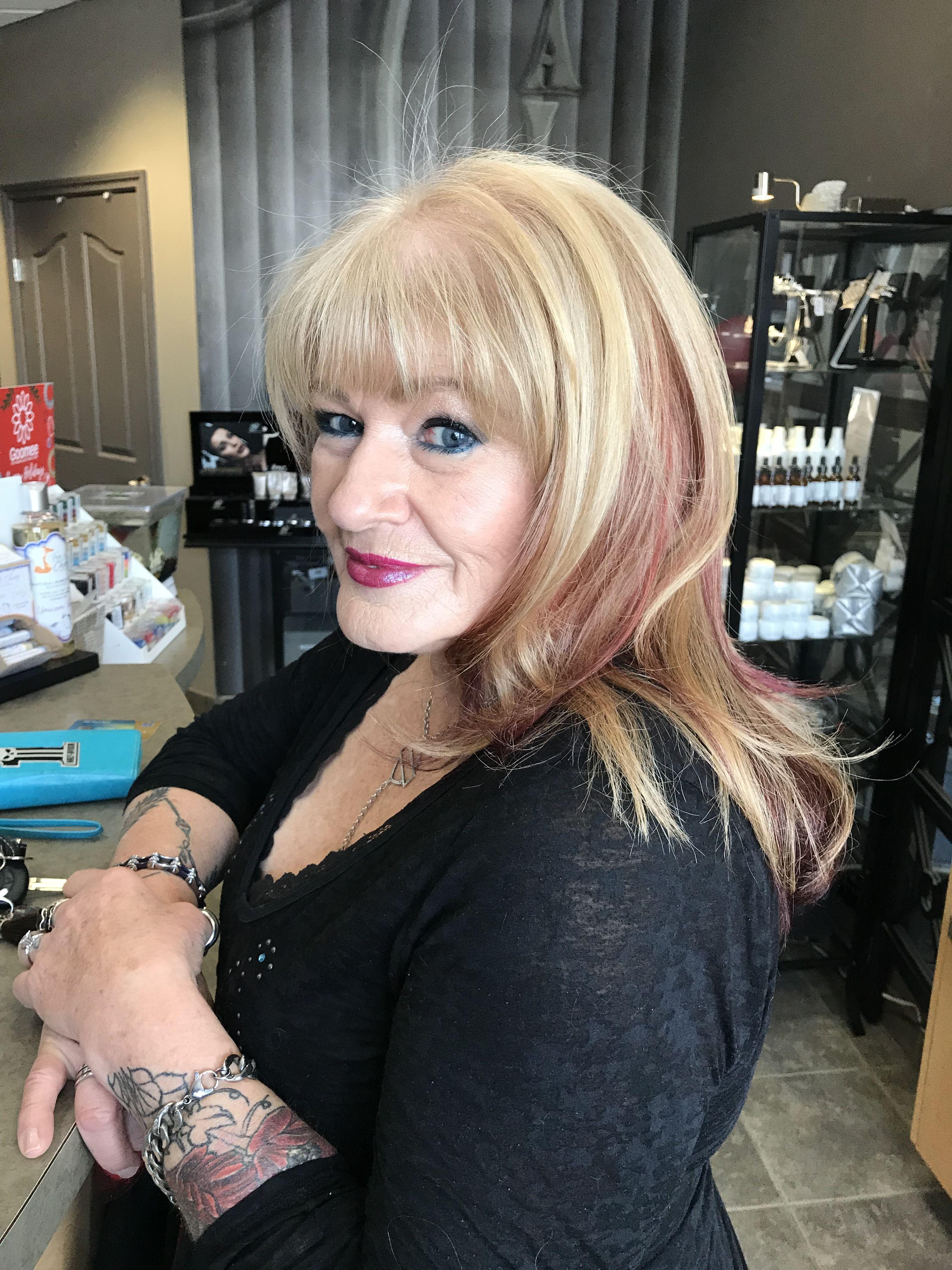 Hair by Leasa Berg @ Leasa Renae Salons