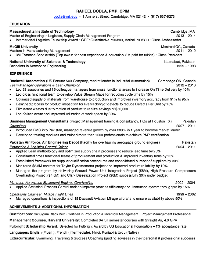 Lean Champion Resume Sample  HttpResumesdesignComLean