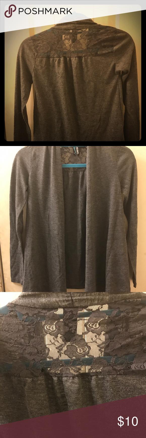 Grey Lacey Sweater My Posh Picks Pinterest Sweaters Dressy