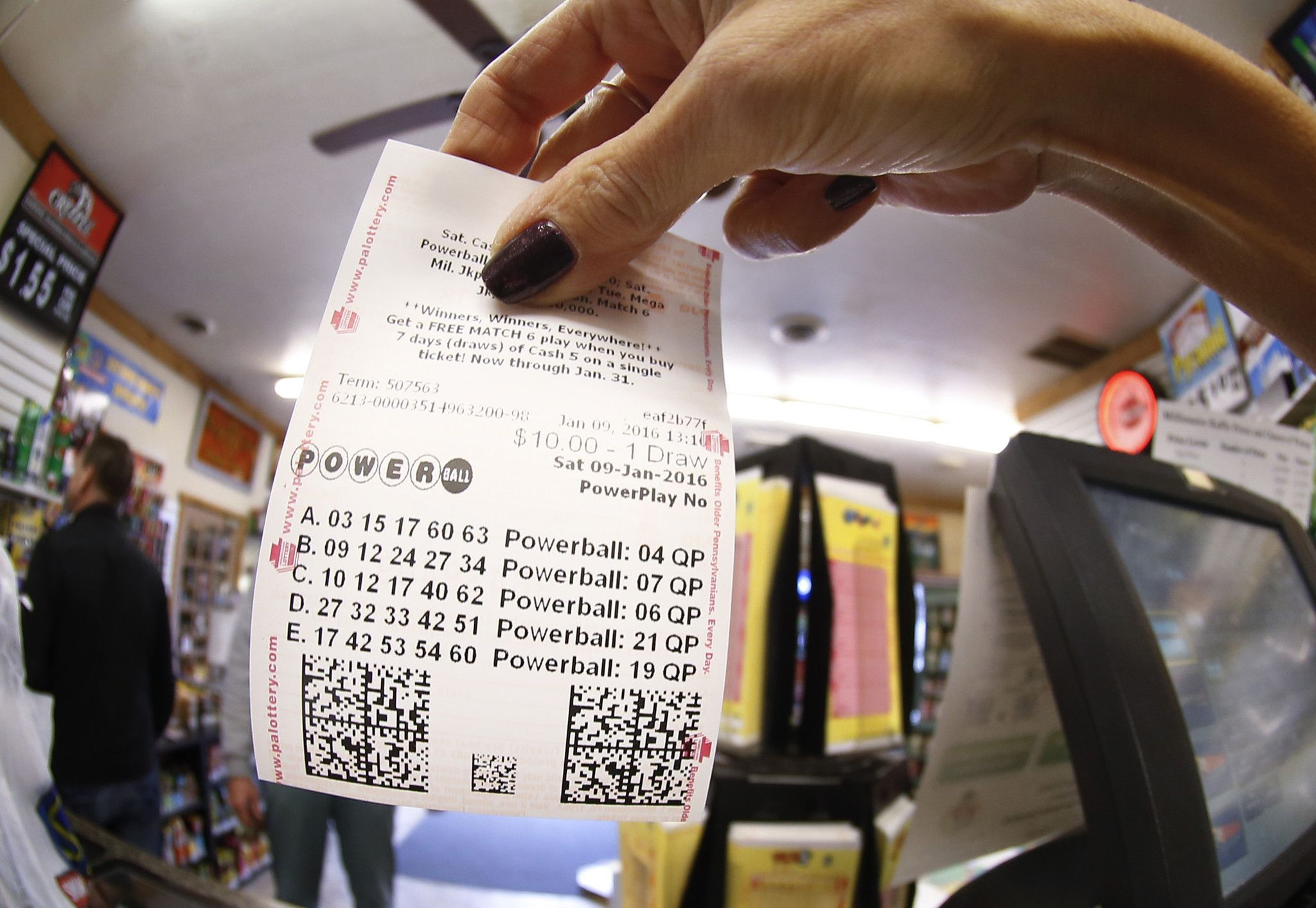 Didn't win the Powerball? You might still get a payout