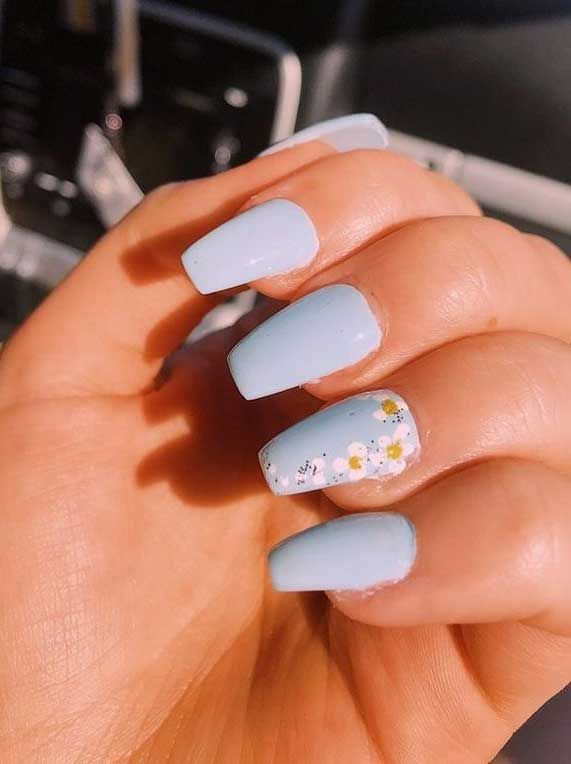 Pretty in Pastel nail colors & designs to try this season - Fab Wedding Dress, Nail art designs, Hair colors , Cakes