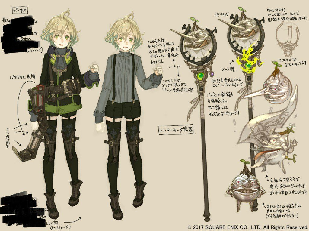 Character Design Site : Rpg site on characters character design and anime