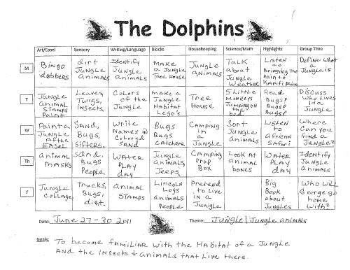 The Dolphins Lesson Plan - Google Search | Ideas For The House