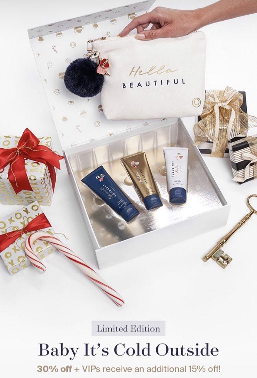 Monat Holiday Hand Cream Gift Set 🎄 Hand cream gift set