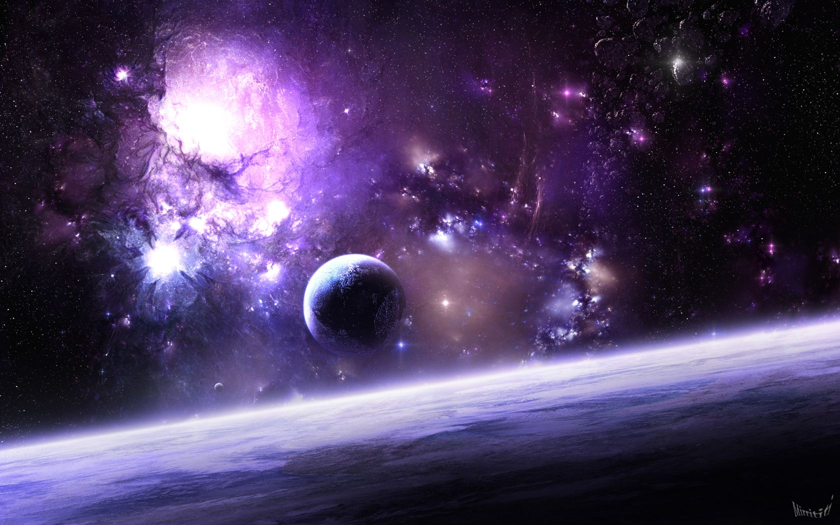 Wallpaper Fond Ecran Space Espace Wallpaper Hd 0010