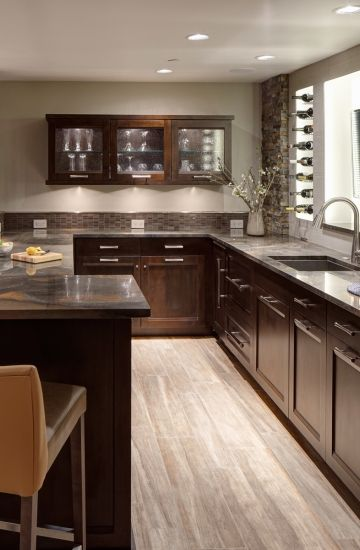 Rec Room Bar Designs: Rec Room Re-imagined - Basement Remodel