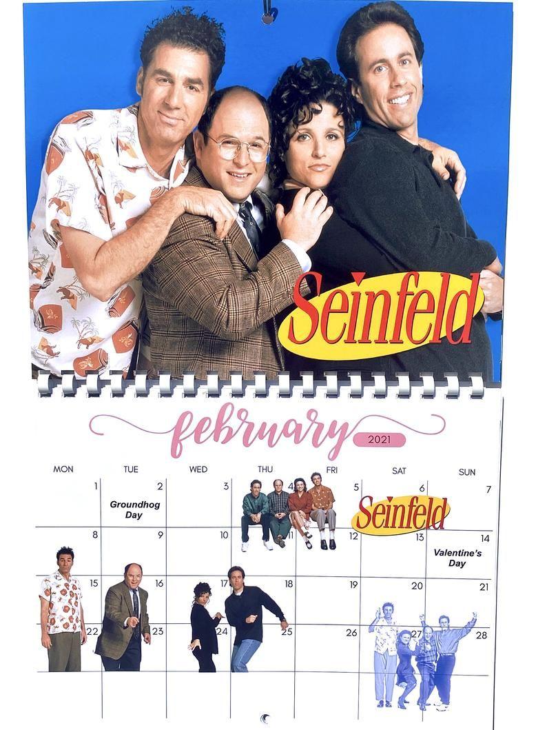 My favorite 90s TV shows 2021 Calendar | Etsy