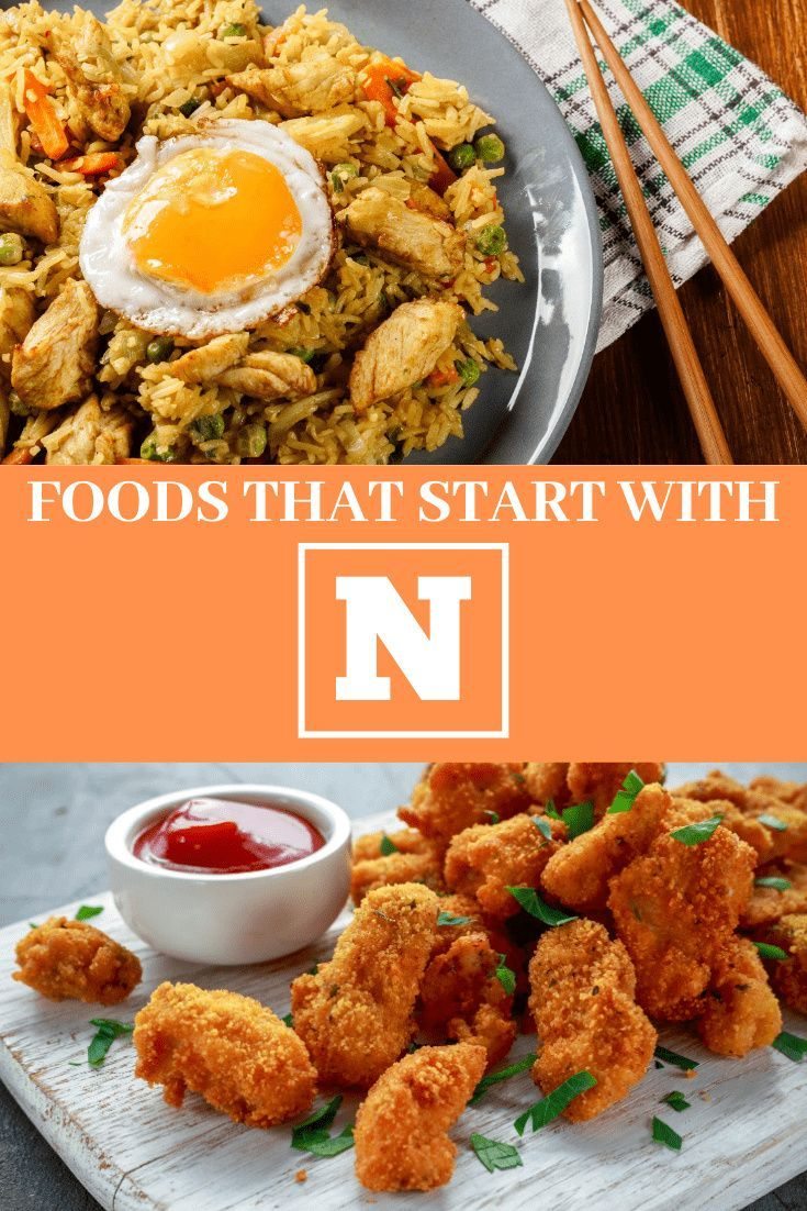 22 Foods That Start With N in 2020 Food, Different