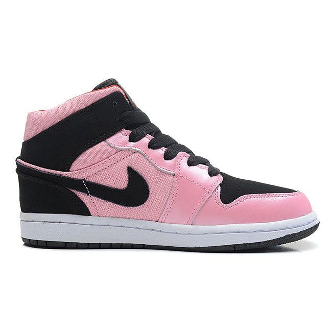 555112-608 Air Jordan 1 Mid GS Ion Pink