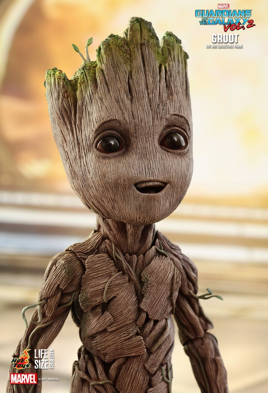 Hot Toys Guardians Of The Galaxy Vol 2 Groot Life Size