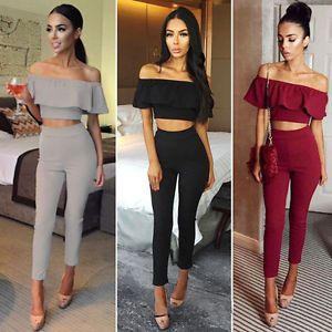 ffe9f7d592 New Women s Jumpsuit Evening Overall Clubwear Ladies Party Playsuit Pants  Romper