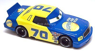 Disney Pixar Cars No.35 Shifty Drug Kevin Racingtire 1//55 Diecast