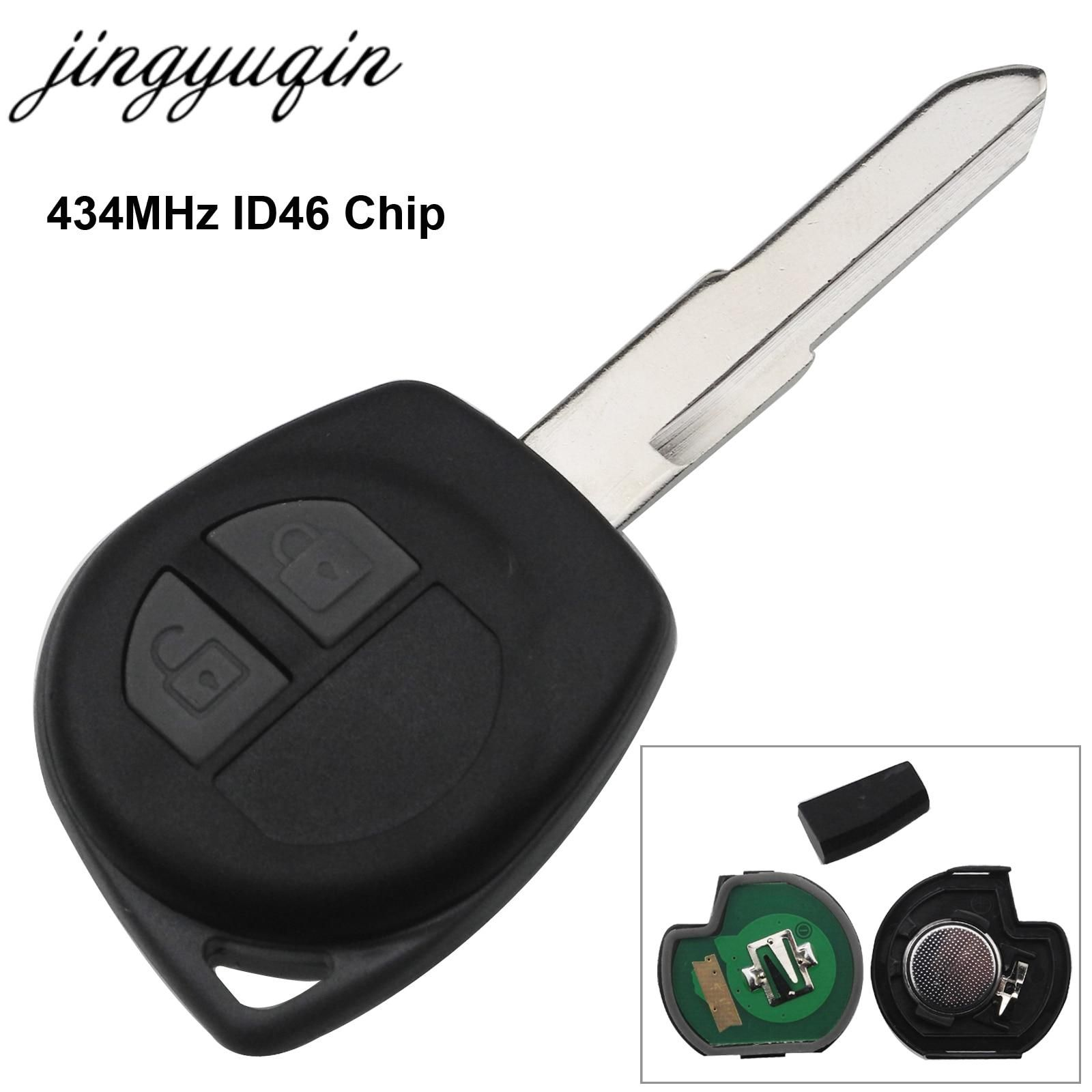 Jingyuqin Car Remote Key Fit For Suzuki Swift Sx4 Alto Vitara