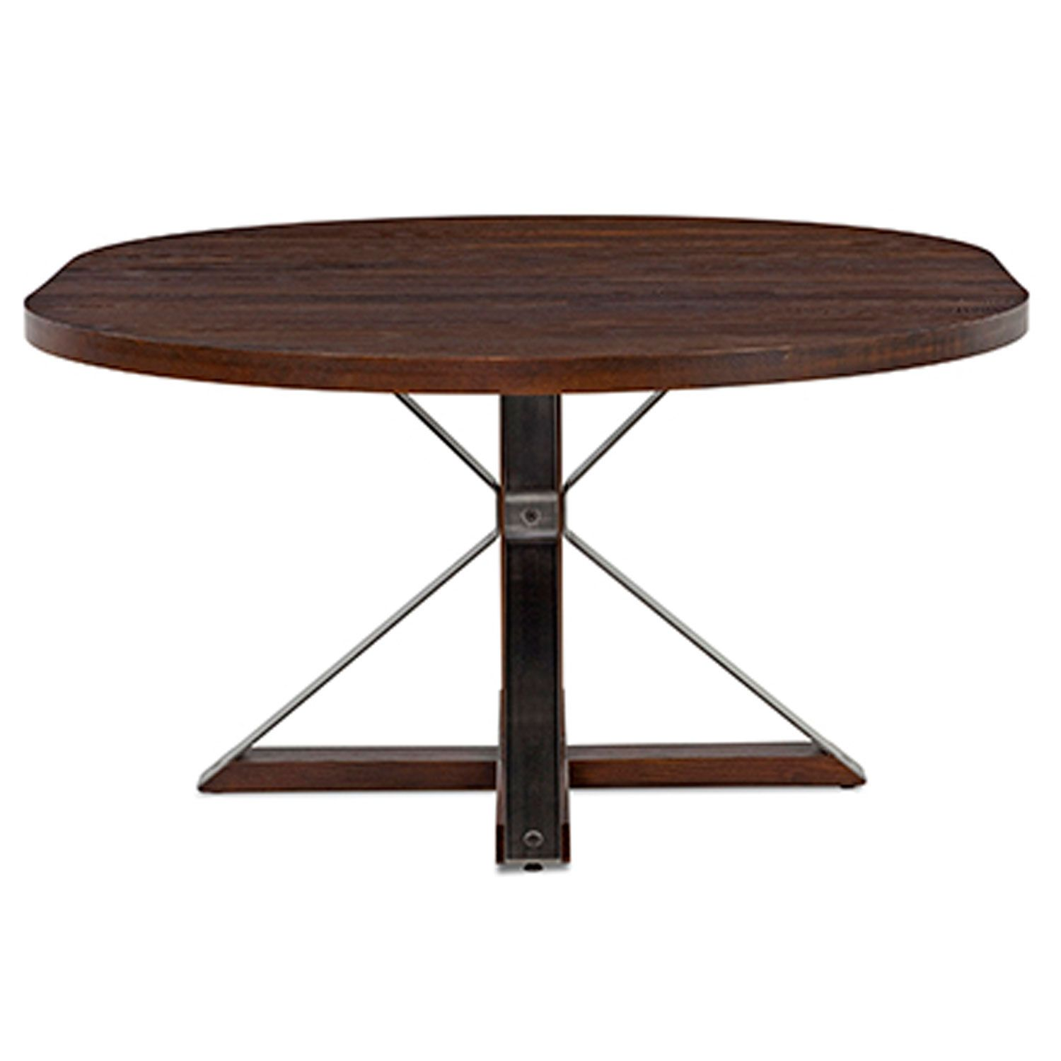 Cambridge 54 Inch Burnt Extension Dining Table Saloom Furniture ...