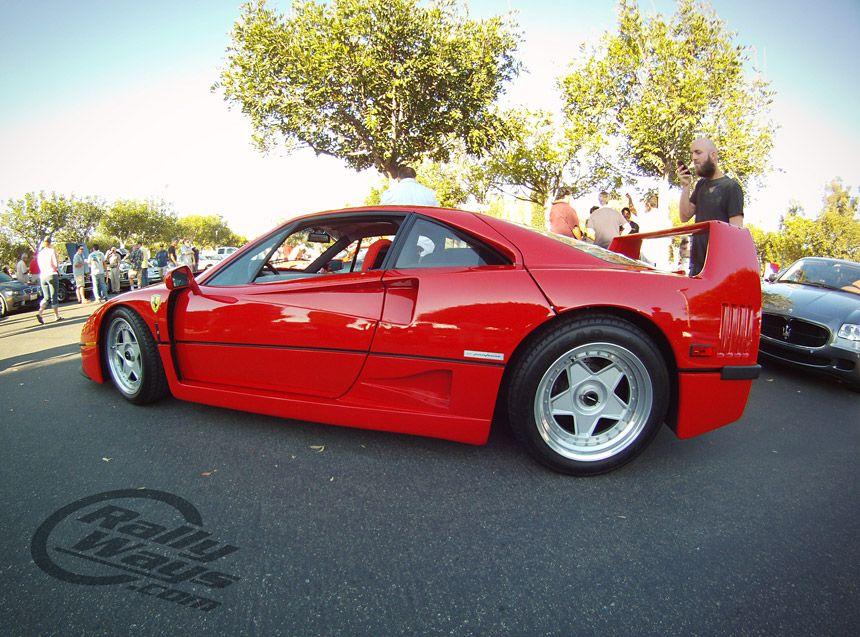 Ferrari F40 - Live and in the flesh.