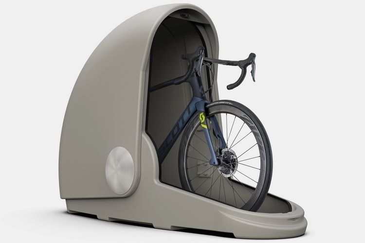 Alpen Bike Capsule Is A Mini Garage For Your Bicycle Outdoor