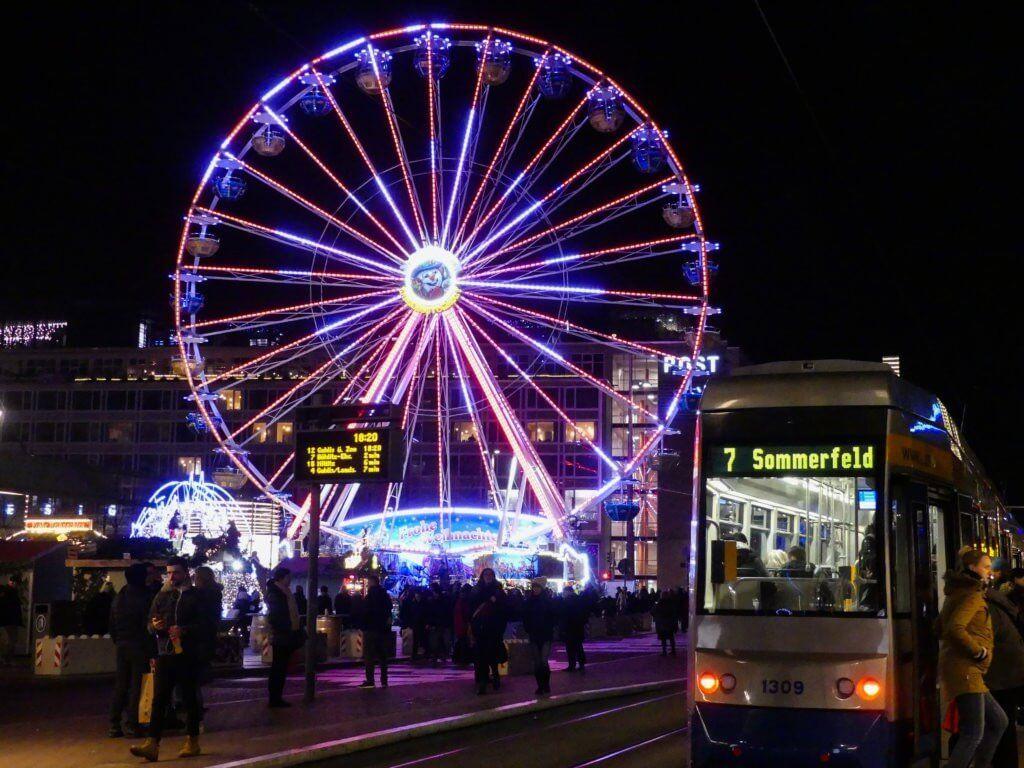 Weihnachtsmarkt Leipzig.Der Leipziger Weihnachtsmarkt Leipzig Pinterest Ferris Wheel