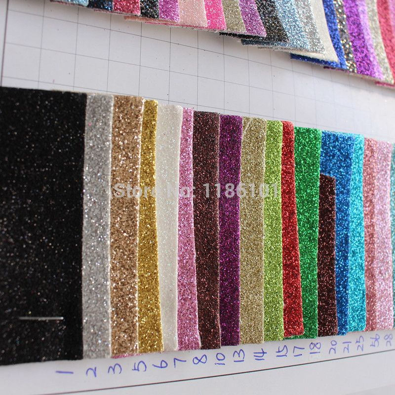 free shipping H011 PU glitter wall covering sample colour card - sample chart