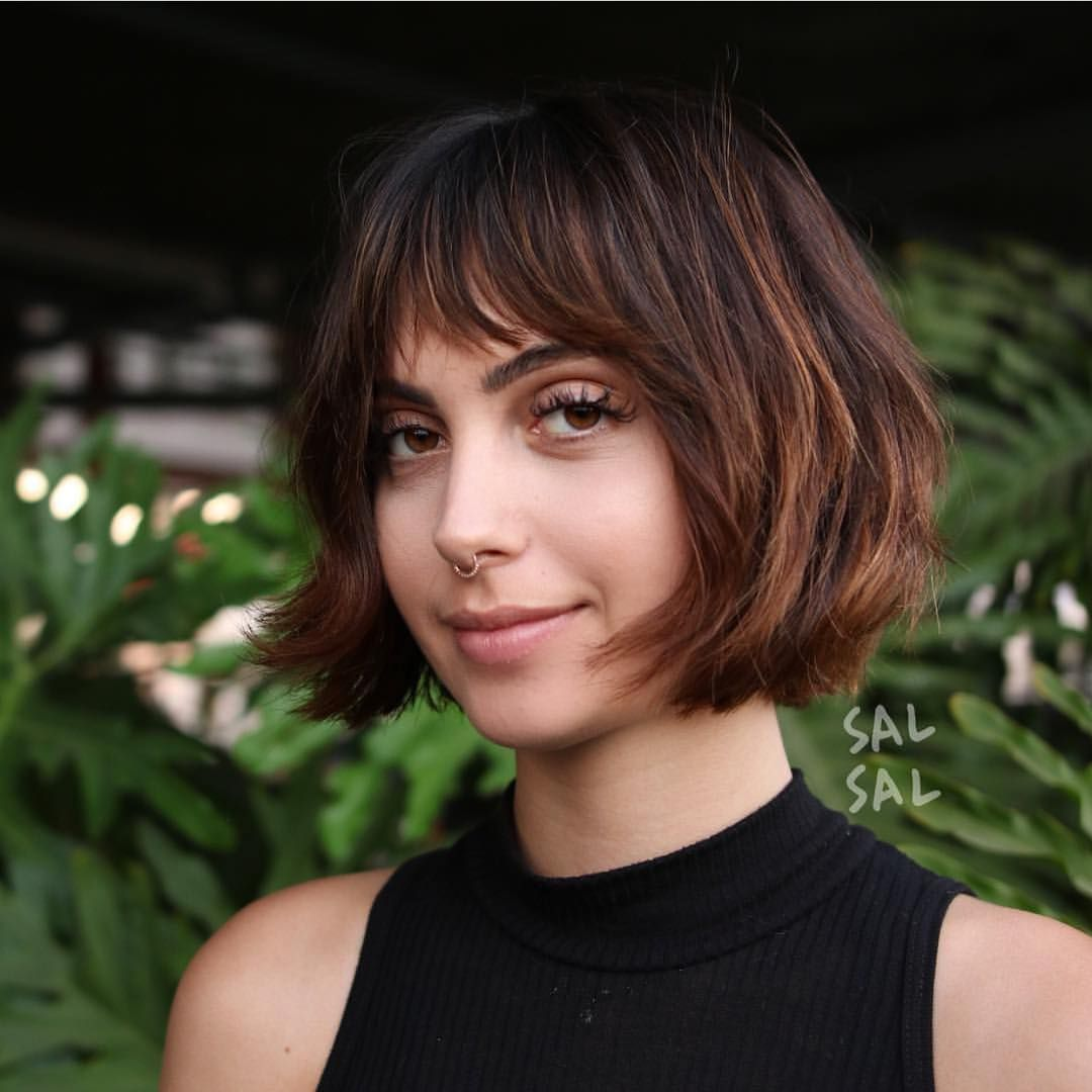 40 Most Flattering Bob Hairstyles For Round Faces 2021 Hairstyles Weekly Bob Hairstyles For Round Face Bob Hairstyles With Bangs Round Face Haircuts