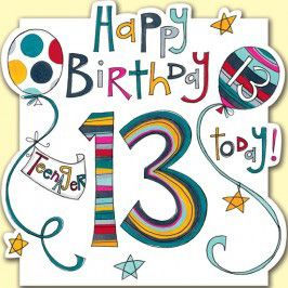 Amsbe Free 13th 16th And 21 Birthday Cards Ecards Fyi Happy 13th Birthday 13th Birthday Wishes 21st Birthday Cards