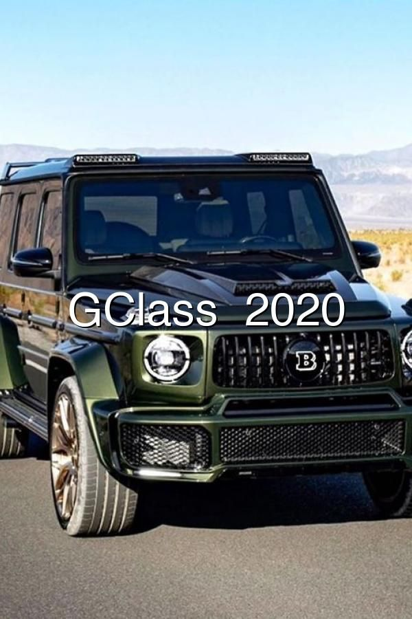 Photo of GClass   2020
