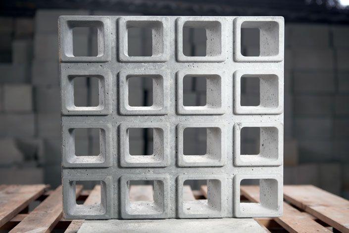 Top Cobogó concreto quadrado 16 furos   cobogó   Pinterest   Cobogó  IK31