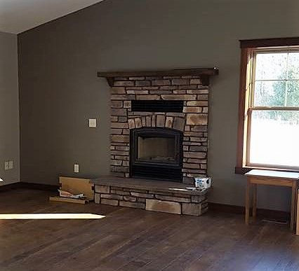 Great American Fireplace Installed This Rsf Opel 3 Wood Fireplace With Heat Ducts To The Basement For Whole Home Heating